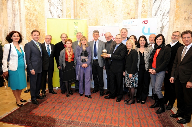 IMST-Team mit Sustainability Award